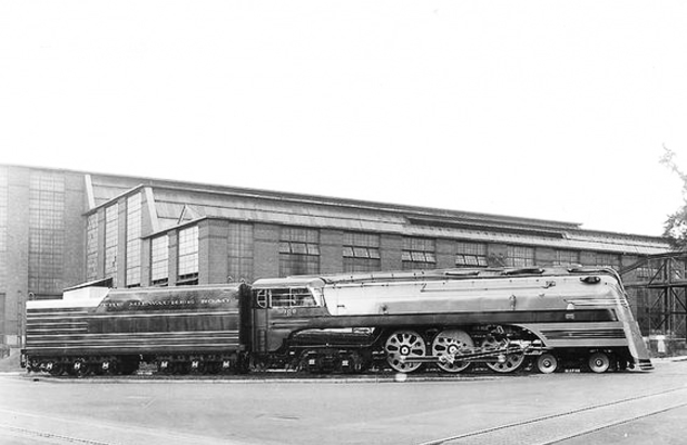 Milwaukee Road Class F7 steam locomotive.