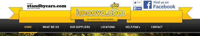 logo for imoova.com website