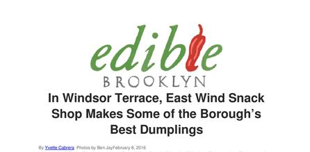 Brooklyn's best dumplings