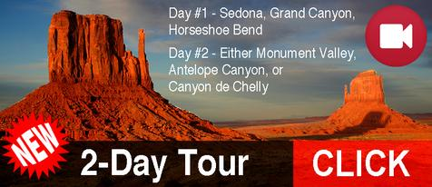 Book Grand Canyon Tour