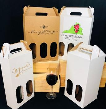 Custom Printed Wine Packaging