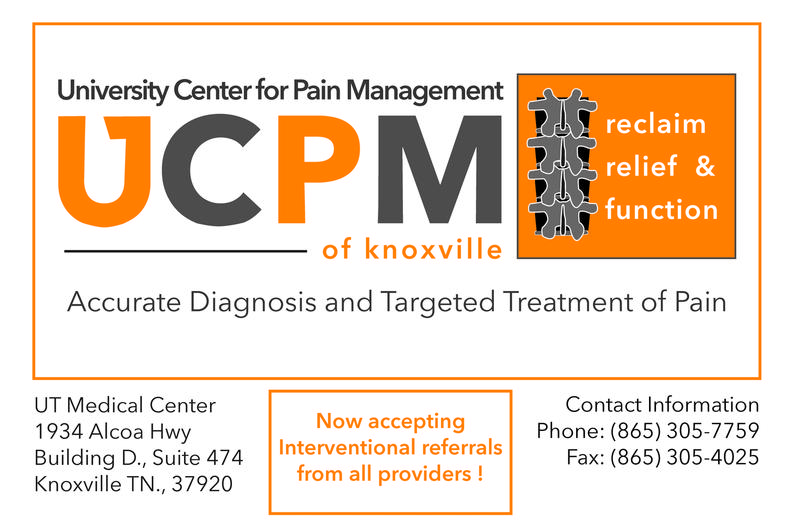 University Center for Pain Management of Knoxville