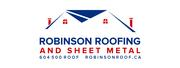 Robinson Roofing Logo | Robinson Roofing & Sheet Metal Langley