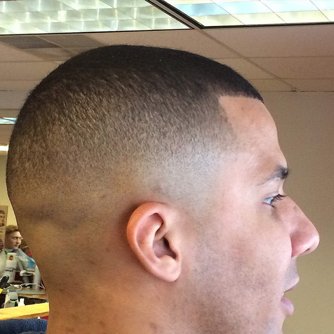 Barber Shop Hairstyles For Men Fade Haircut