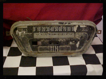 1953 Ford Gauges, Fuel, Temperature, Speedometer