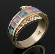 Opal ring in need of repairs!