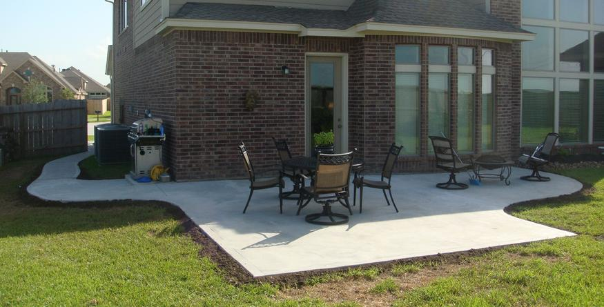 Houston Concrete Patio Builders