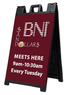 Exterior Sign, Sandwich Board