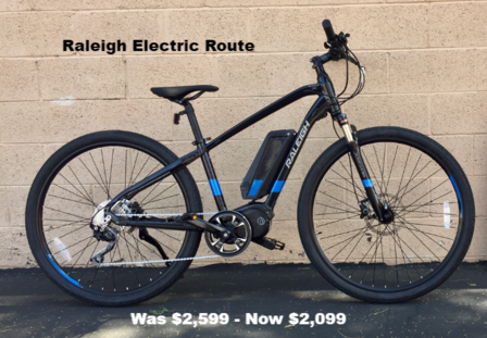 Raleigh Electric Route