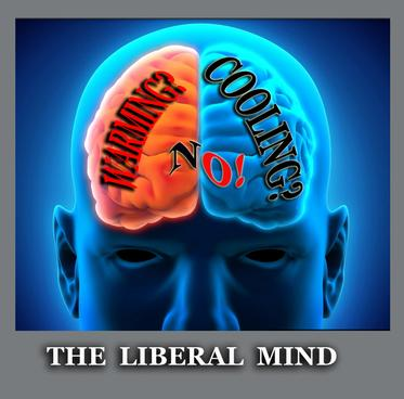 The liberal mind on global warming