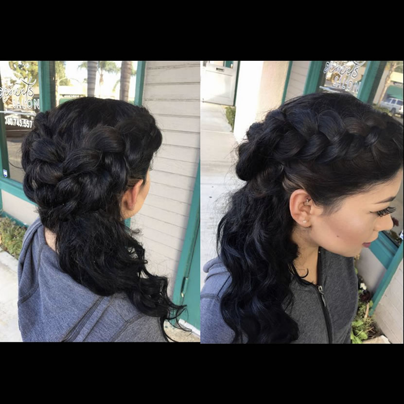 Formal Event Styling | Updos | Elements Salon | Escondido, CA | San ...
