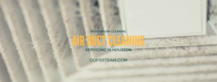 air duct cleaning service featuring an air vent with signs of mold