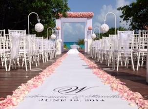 Starry night design studio inc wedding aisle runner wedding aisle runner junglespirit Choice Image