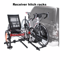 Receiver hitch car rack