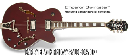Epiphone Early Black Friday Sale