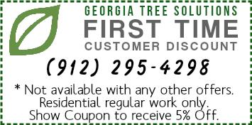First Time Customer Discount by Georgia Tree Solutions