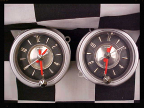 1956 Ford Clocks