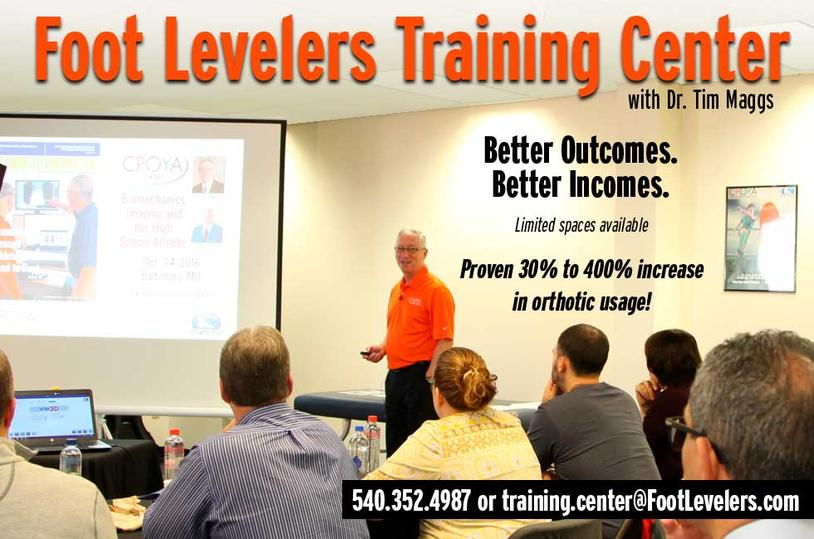 Foot Levelers Training Center
