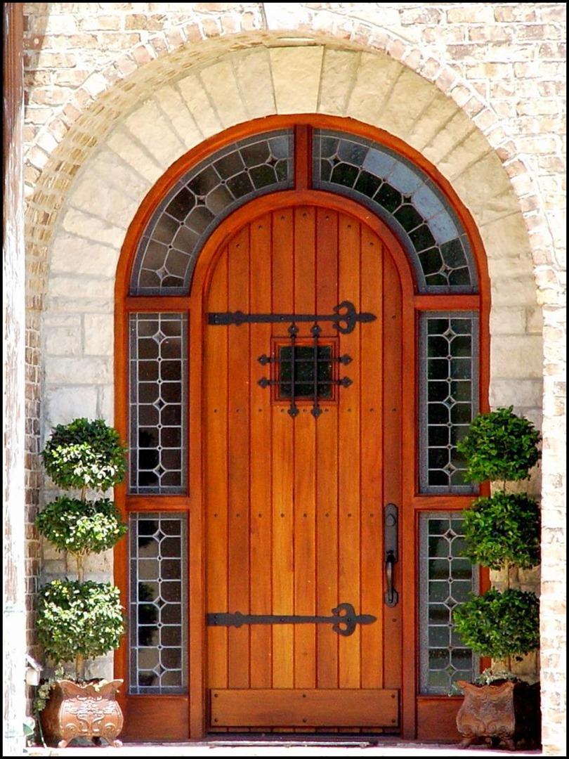 with wood entry custom doors dark front mahogany solid sidelites single door big