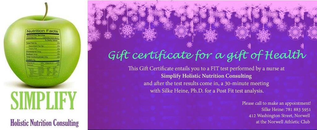 Simplify Gift Certificate 2