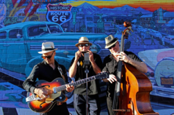 The Mother Road Trio hits Route 66 at Williams ARToberfest.