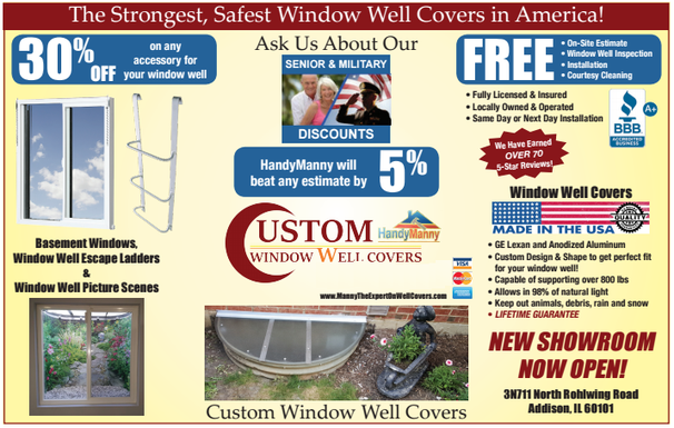 HandyManny Window Well Covers Coupons