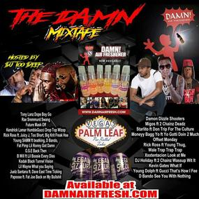 Damn Mixtape CD host by DJ II Deep