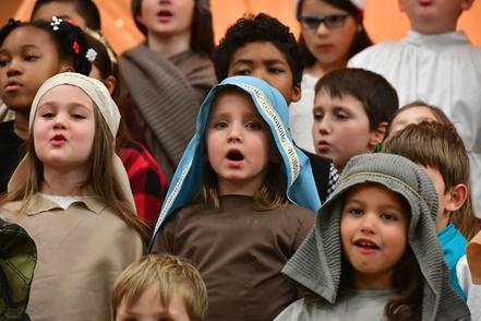 Catholic School Christmas Pageant