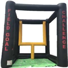 inflatable field goal rental