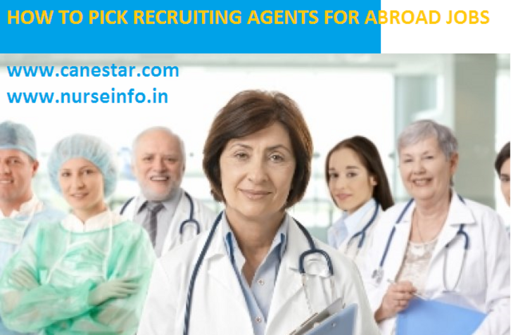 recruiting agents for abroad nursing jobs