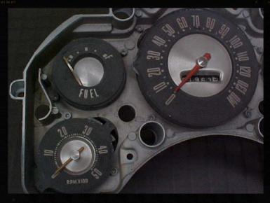 1957 Ford Thunderbird Gauges