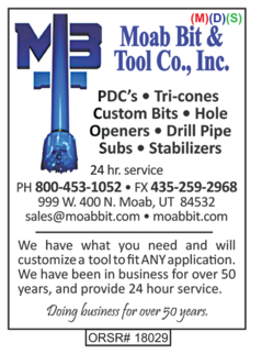 Moab Bit & Tool Co., Inc., Bits