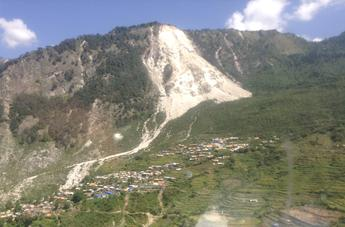 Barpak Nepal where the April 2015 struck