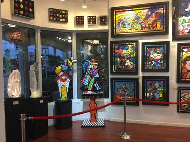 Romero Britto Michael Wilkinson