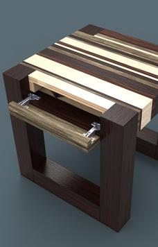DIY secret hidden compartment end table. Free plans. www.DIYeasycrafts.com
