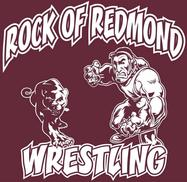 image of the rock of redmond wrestling club logo