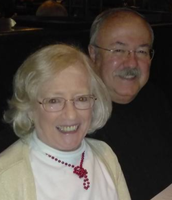 Dr. John Amy and his wife Sally
