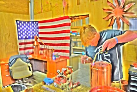 The Distillery Network inc  - Moonshine Stills, Copper