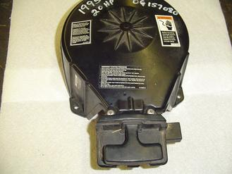 Used rewind assembly for a 1995 Mercury 20 hp outboard motor rewind OEM #90906A17, a23