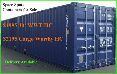 Shipping containers for sale Space Spots