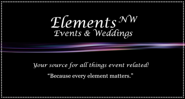 Elements NW Events Wedding Planning & Coordination