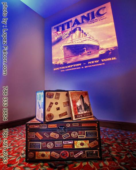 Titanic Quinceanera Decoration Quince Party Miami Quinces