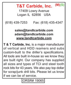 T & T Carbide, Hole Openers, Bits