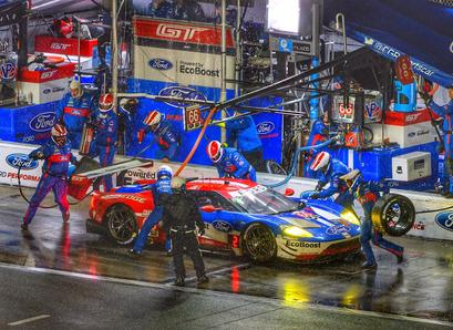 Chip Ganassi Racing, Ford GT40 Racing, DP6000 Paoli Wheel Gun, 24 Hours of Daytona Pit stop