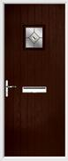 Cottage Square Composite Door fusion glass