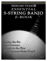 Essential 5-String Banjo Interactive E-Book Fretboard Toolbox