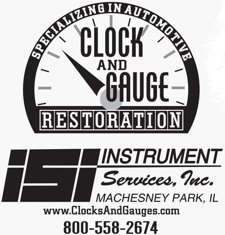 Automotive clock and Gauge Repair