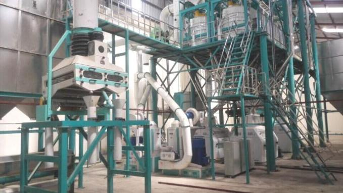 pictures of 150 ton maize flour mill machine
