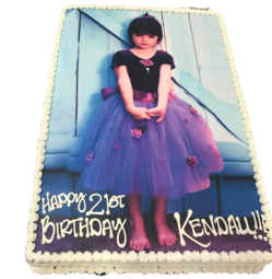 Kendall Jenner Birthday Cake Portrait Cakes Los Angeles