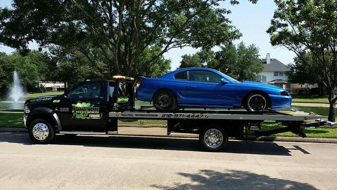 flat bed towing san antonio